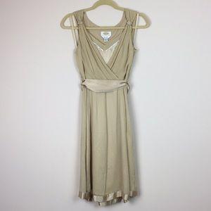 Talbots Petites - Sleeveless Faux Wrap Dress